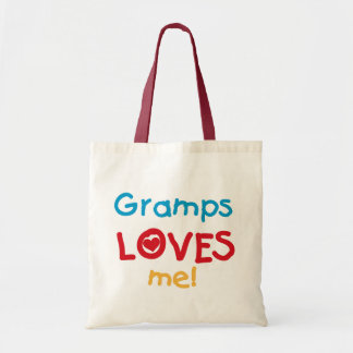 Gramps Loves Me T-shirts and Gifts Tote Bag
