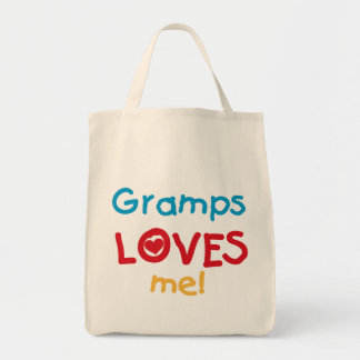 Gramps Loves Me T-shirts and Gifts Tote Bags