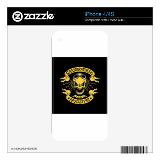 Gramps of the Apocalypse Decal For The iPhone 4