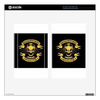 Gramps of the Apocalypse Kindle Fire Skins