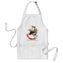 Gramps on Rocking Horse Adult Apron