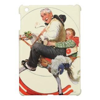 Gramps on Rocking Horse iPad Mini Cases