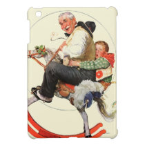 Gramps on Rocking Horse iPad Mini Cover