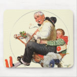 Gramps on Rocking Horse Mouse Pad
