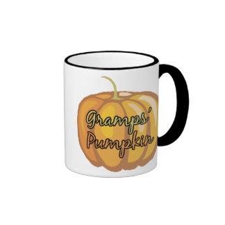 Gramps' Pumpkin Ringer Coffee Mug