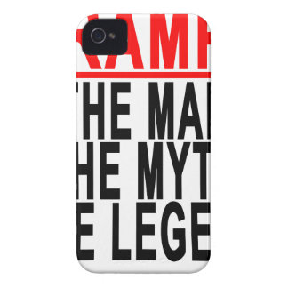 Gramps The Man The Myth The Legend Tshirt.png iPhone 4 Case