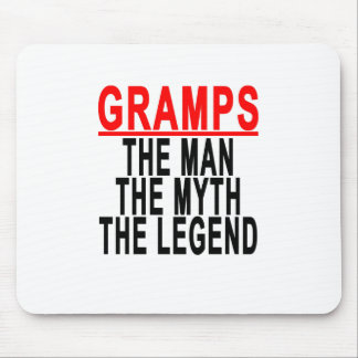 Gramps The Man The Myth The Legend Tshirt.png Mouse Pad