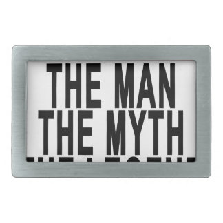 Gramps The Man The Myth The Legend Tshirt.png Rectangular Belt Buckle