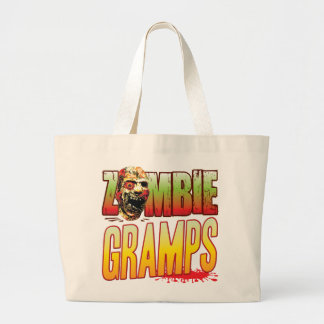 Gramps Zombie Head Canvas Bag