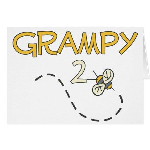 Grampy a ser (abeja) tarjeton