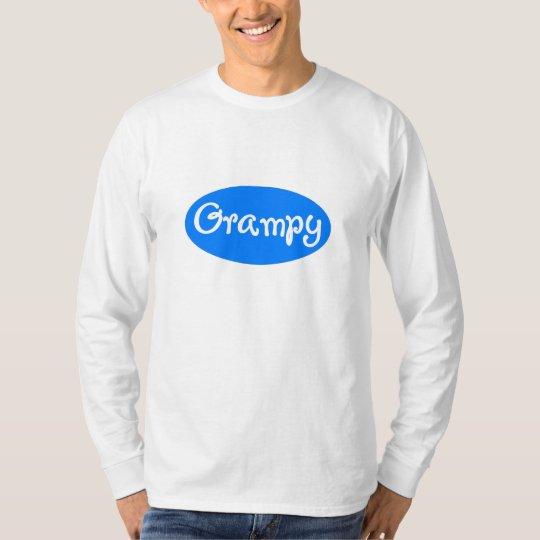 Grampy Blue White T-Shirt