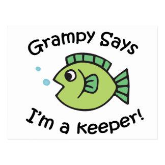 Grampy dice que soy encargado postales