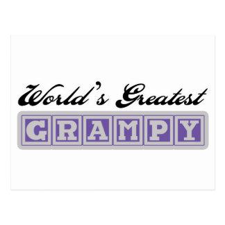 Grampy más grande del mundo tarjetas postales