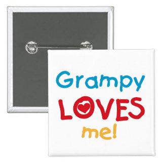 Grampy me ama las camisetas y los regalos pins