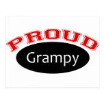 Grampy orgulloso tarjeta postal