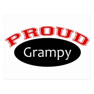 Grampy orgulloso tarjetas postales
