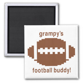 Grampy's Football Buddy Magnet
