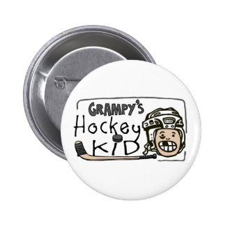 Grampy's Hockey Kid Pin