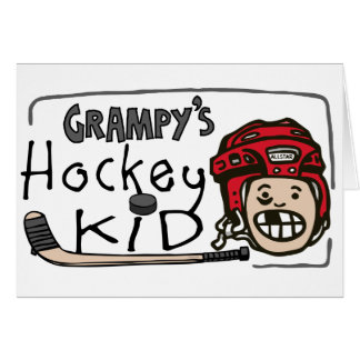 Grampy's Hockey Kid Cards