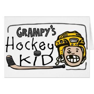 Grampy's Hockey Kid Card