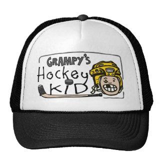 Grampy's Hockey Kid Mesh Hat