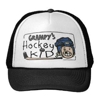 Grampy's Hockey Kid Trucker Hat