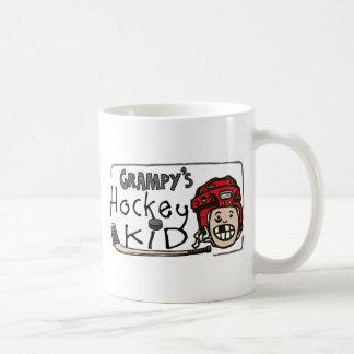Grampy's Hockey Kid Coffee Mug