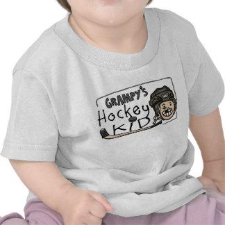 Grampy's Hockey Kid T Shirts