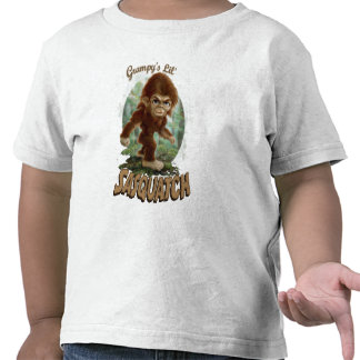 Grampy's Little Sasquatch Shirt