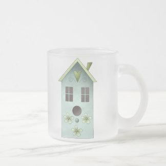 Gram's Garden · Blue Birdhouse Coffee Mug