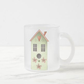 Gram's Garden · Green Birdhouse Mugs