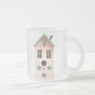 Gram's Garden · Pink Birdhouse Mug