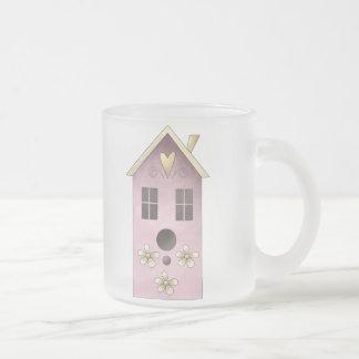 Gram's Garden · Purple Birdhouse Coffee Mug
