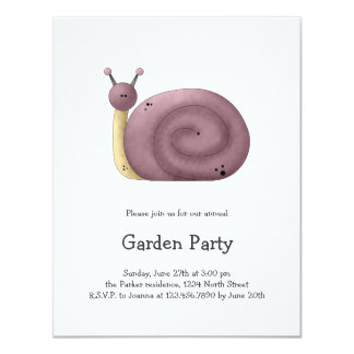 Gram's Garden · Purple Snail Card