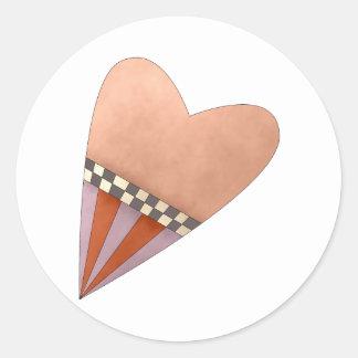 Gram's Garden · Red Heart Classic Round Sticker