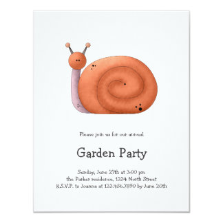 Gram's Garden · Red Snail Card