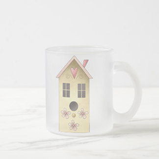 Gram's Garden · Yellow Birdhouse Mugs