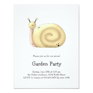Gram's Garden · Yellow Snail Card
