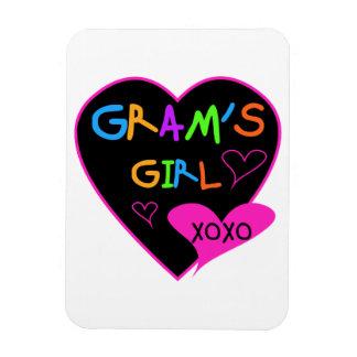 Gram's Girl Custom T-Shirts, Mugs, Buttons, Cases Rectangle Magnet