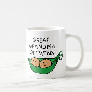 Gran abuela de la vaina de los gemelos taza clásica
