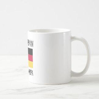 Gran abuelo alemán orgulloso taza
