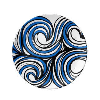 Gran afectuoso decente valiente platos de cerámica