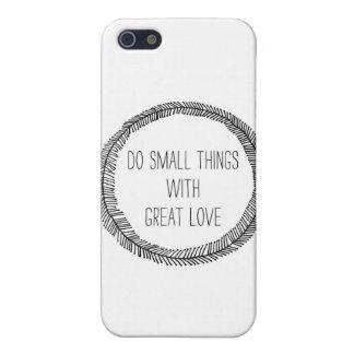 gran amor iPhone 5 carcasas