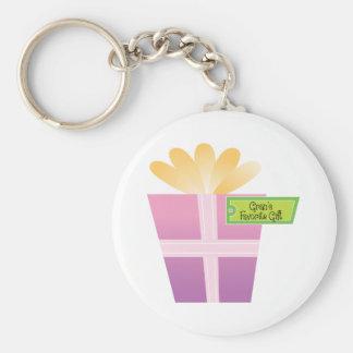 Gran's Favorite Gift Basic Round Button Keychain