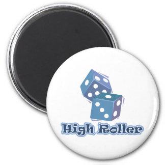 Gran apostador - juegos de los dados imán redondo 5 cm