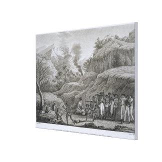 Gran archipiélago asiático: Exploradores franceses Lienzo Envuelto Para Galerias