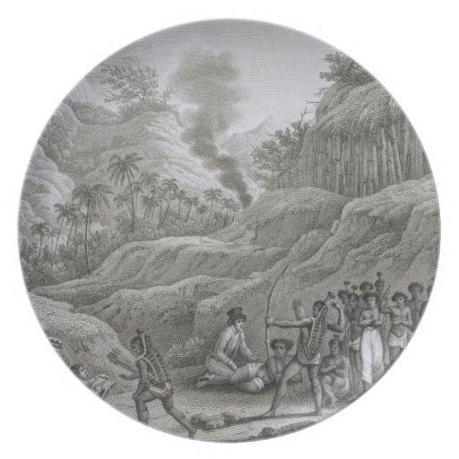 Gran archipiélago asiático: Exploradores franceses Plato Para Fiesta