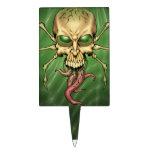 Gran arte extranjero de Lovecraftian del cráneo de Decoración De Tarta