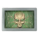 Gran arte extranjero de Lovecraftian del cráneo de Hebilla Cinturón