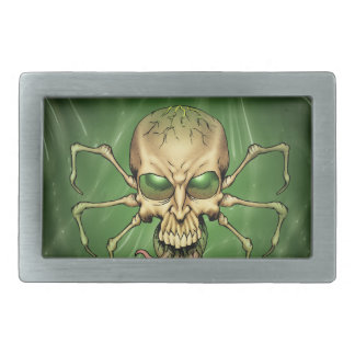 Gran arte extranjero de Lovecraftian del cráneo de Hebillas Cinturón Rectangulares
